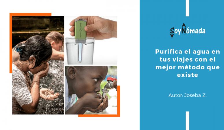 Purificar agua con el mejor método que existe