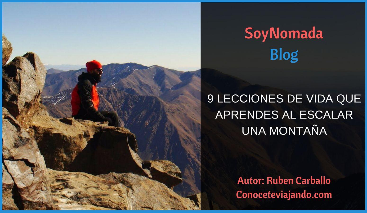 Escalar montañas