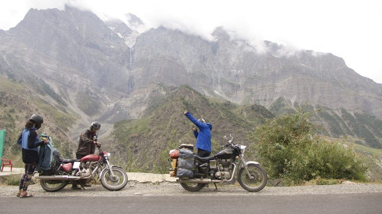 Viaje en moto al norte de la India